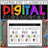 Digital Flashcards - PHONICS {Digital Resources for Distance Learning}