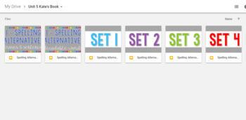 Digital Flashcards:Spelling Alternatives 1 Decodable Words,Phrases & Sentences
