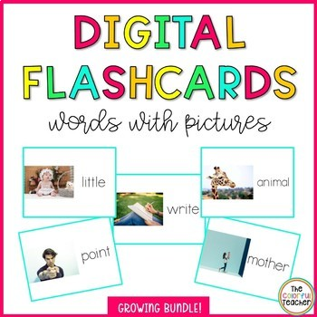 Digital Flashcards: Words and Pictures