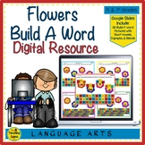 Digital Flowers Build A Word for Google Slides: Short Vowe