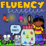 Digital Fluency Fireflies Game {Stuttering Game for Speech