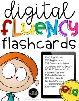 Digital Fluency Flashcards ELA