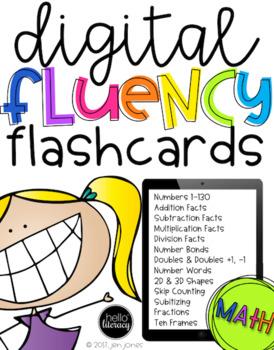 Digital Fluency Flashcards: Math Edition