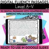 Digital Fluency Passages: Set 1 Bundle Kindergarten-5th Gr