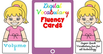 Digital Fluency Vocabulary Cards Volume 1