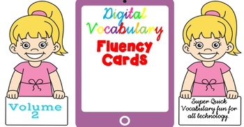 Digital Fluency Vocabulary Cards Volume 2