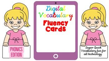 Digital Fluency Vocabulary Phonics Edition