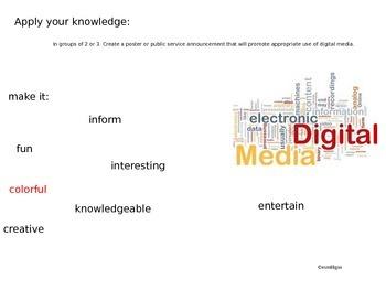Digital Footprint: Character Education Lesson