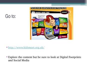 Digital Footprint PowerPoint