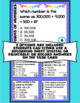 Digital Forms of Numbers Task Cards - 4th Grade