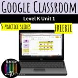 Digital Foundations Level K Unit 1 FREEBIE