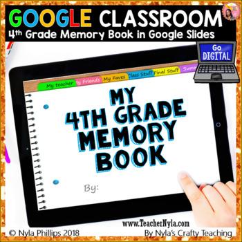 Digital Fourth Grade Memory Book