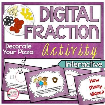 Digital Fraction Activity