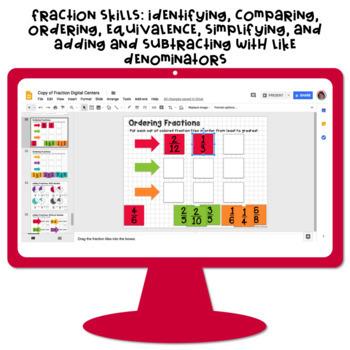 Google Classroom™ Math Activities for Fractions