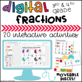Google Classroom™ Math Activities for Fractions