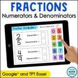 Digital Practice for Fraction Numerators & Denominators |