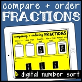 DIGITAL Fraction Sort for Google Drive: Comparing Using Benchmarks