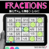 Digital Fractions Bingo Game {Google Slides}