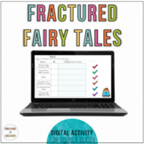 Digital Fractured Fairy Tale Writing | Distance Learning
