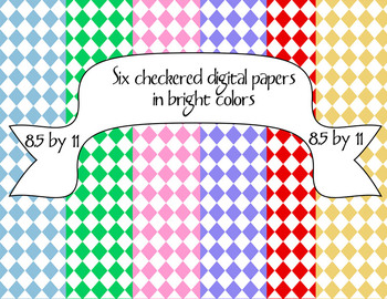 Digital Frames, Badges, Papers, and Borders in Bright Colors
