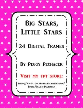 Digital Frames - Big Stars, Little Stars