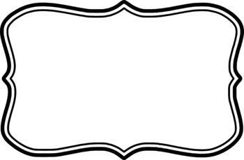 Frames Clipart - Double Border Collection - Commercial/Personal Use