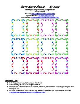 Decorative Borders - Curvy Arrows