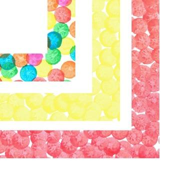 Digital Frames/Borders - Paint Dot Frames