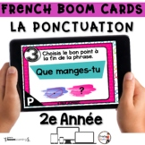 Digital French Distance Learning Boom Cards - Grammaire PO
