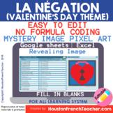 Digital French Pixel Art - La Négation Ne Pas | Mystery Re