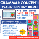 Digital French Saint Valentin Distance Learning | French G