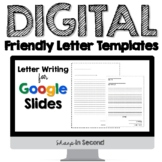 Digital Friendly Letter Templates for Google Slides
