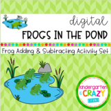Digital Frogs in the Pond Adding and Subtracting Game - di