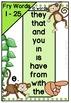 Digital Fry Words 1-25 One Breath Boxes