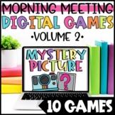 Digital Fun Fridays | Digital Morning Meeting Games | Virt
