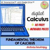 Fundamental Theorem of Calculus Activity for Google Slides™