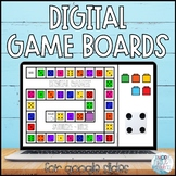 Digital Game Boards for Google Slides | Zoom Games
