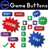 258 Digital Game Buttons 4 Bright Colors (Personal or Comm