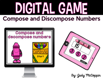 Digital Game *Compose and Decompose Numbers*