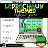 Digital Game | March | Leprechaun | St. Patrick's Day Digital