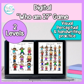 """Digital Game boards: """"Who am I""""? Visual Perception & Handwriting for Teletherapy"""