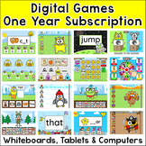 Digital Games 1 Year Subscription: In Class & Distance Learning ELA & Math Games