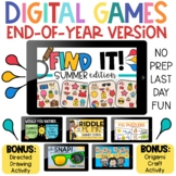 Digital Games for End of the Year Fun