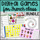 Digital Games for French Class BUNDLE
