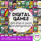 Digital Games for Pre-K and Kindergarten - Distance Learni