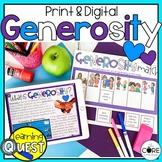 Digital Generosity Activities | Kindness Activities | Distance Learning