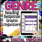 Digital Genre Graphic Organizers, Reader Response for Dist
