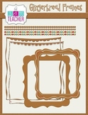 Digital Gingerbread Frames