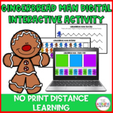 Digital Gingerbread Man Activity Set: No Print Distance Learning