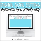 Digital Goal Setting Resource for Students
